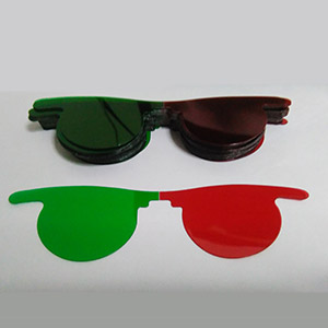 Post Mydriatic Spectacles Slip-in Red/Green 200pcs